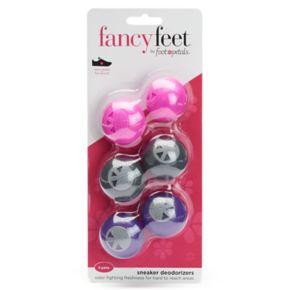 Fancy Feet by Foot Petals 6-pk. Sneaker Deodorizers