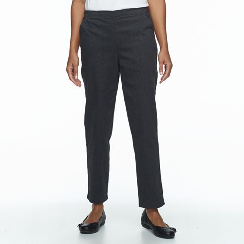 Petite Croft & Barrow® Straight-Leg Twill Pants