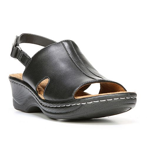 Soul Naturalizer Seleste Women S Leather Wedge Sandals