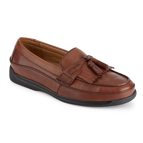 Men's Dockers Sinclair Antique Brown Loafers (Antique Brown) - Z
