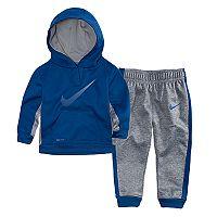 Baby Boy Nike Therma Hoodie & Pants Set