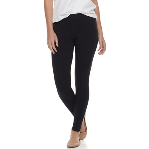 c6a53ee786b57 Petite SONOMA Goods for Life™ Jersey Leggings