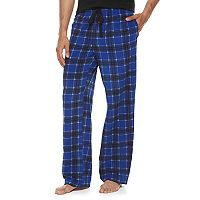 Men's Croft & Barrow® Patterned Microfleece Lounge Pants