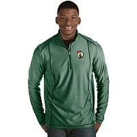 Men's Antigua Boston Celtics Tempo Quarter-Zip Pullover