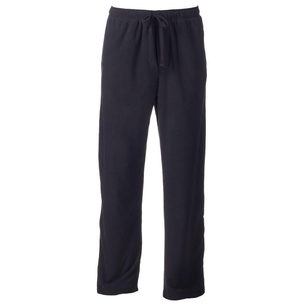 Men's Croft & Barrow® Solid Microfleece Lounge Pants