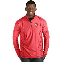 Men's Antigua Atlanta Hawks Tempo Quarter-Zip Pullover