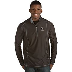 Men's Antigua Brooklyn Nets Tempo Quarter-Zip Pullover