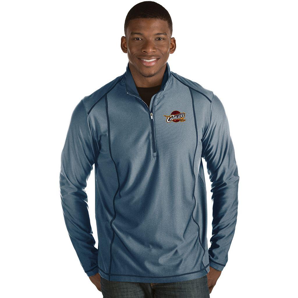 Men's Antigua Cleveland Cavaliers Tempo Quarter-Zip Pullover