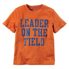 Boys 4-8 Carter's 'Leader On The Field' Graphic Tee
