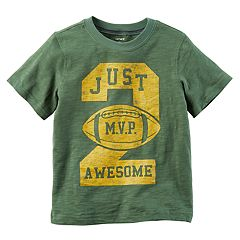 Boys 4-8 Carter's 'Just 2 Awesome' Football Graphic Tee
