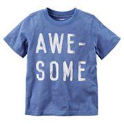 Boys 4-8 Carter's 'Awe-Some' Graphic Tee