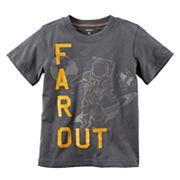 Boys 4-7x Carter's 'Far Out' Astronaut Tee