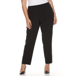 Plus Size Croft & Barrow® Polished Pintuck Pull-On Pants