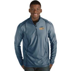 Men's Antigua Denver Nuggets Tempo Quarter-Zip Pullover