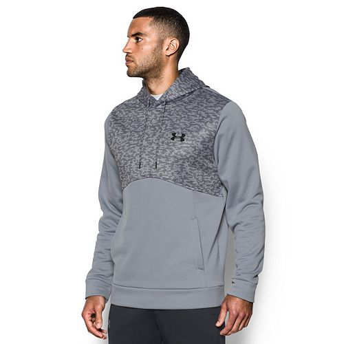 45b5292dac3 Men s Under Armour Armour Fleece Digi Textured Hoodie