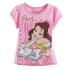 Disney's Beauty and the Beast Belle Toddler Girl 'Dare to Dream' Graphic Tee