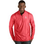 Men's Antigua Houston Rockets Tempo Quarter-Zip Pullover