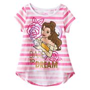 Disney's Beauty & the Beast Toddler Girl High-Low Hem Tee