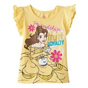 Disney's Beauty and the Beast Toddler Girl Belle 'Friendship Trust Loyalty' Graphic Tee