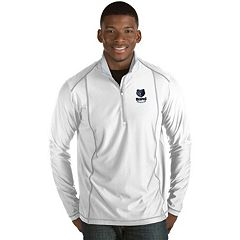 Men's Antigua Memphis Grizzlies Tempo Quarter-Zip Pullover