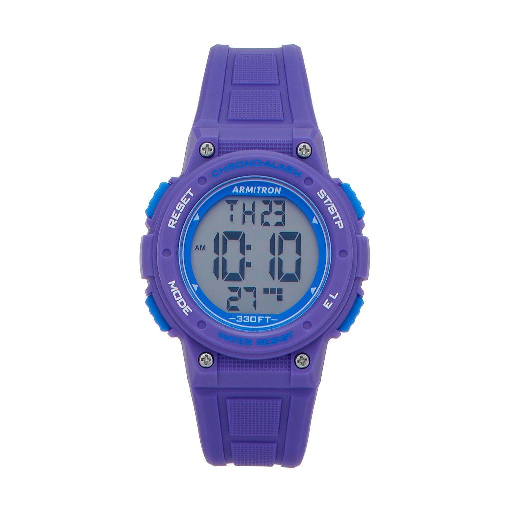 Armitron Women's Digital Chronograph Sport Watch