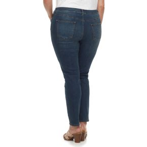 Plus Size SONOMA Goods for Life? Faded Skinny Jeans