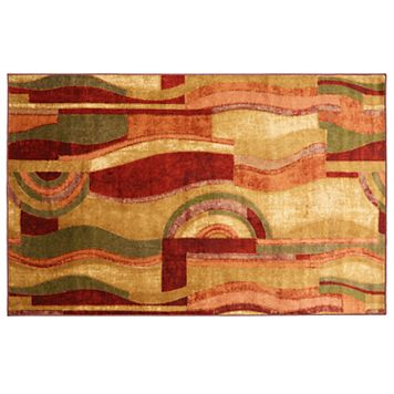 Mohawk® Home Aurora Picasso Abstract Geometric Rug