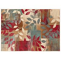 Mohawk® Home Aurora Natural Patchwork Leaf Rug