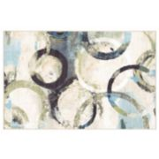 Mohawk® Home Aurora Aquarelle Rings Rug