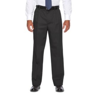 Men's Croft & Barrow® Relaxed-Fit Easy-Care Stretch Pleated Casual Pants