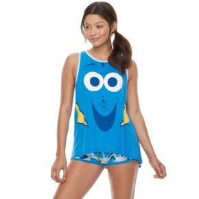 Disney / Pixar Finding Dory Juniors' Pajamas: Tank & Shorts PJ Set