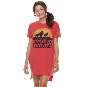 Disney's The Lion King Juniors' Pajamas: Oversized Sleep Shirt