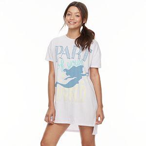 Disney' The Little Mermaid Juniors' Pajamas: Oversized Sleep Shirt
