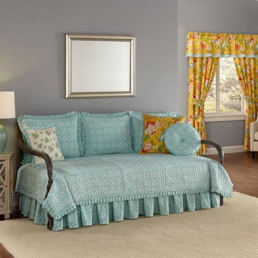 Waverly Modern Poetic Reversible Daybed Quilt