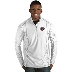 Men's Antigua New Orleans Pelicans Tempo Quarter-Zip Pullover