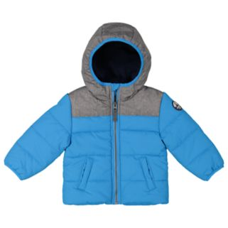 Baby Boy Carter's Heavyweight Quilted Colorblock Jacket