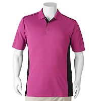 Big & Tall Grand Slam Classic-Fit Airflow Colorblock Performance Golf Polo