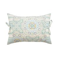 Waverly Astrid Pieced Throw Pillow