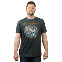 Big & Tall Fifth Sun Star Wars Millennium Falcon Tee