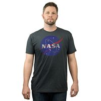 Big & Tall Fifth Sun NASA Logo Tee