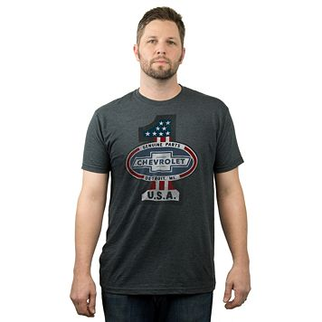 Big & Tall Fifth Sun Chevrolet USA Tee