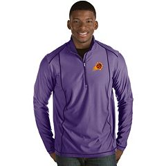 Men's Antigua Phoenix Suns Tempo Quarter-Zip Pullover