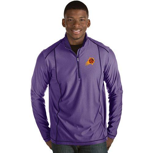 Men's Antigua Phoenix Suns Tempo Quarter-Zip Pullover