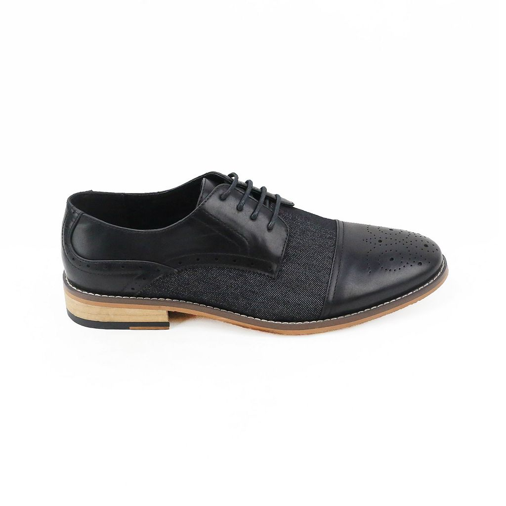XRay Media Men's Cap Toe Dress Shoes