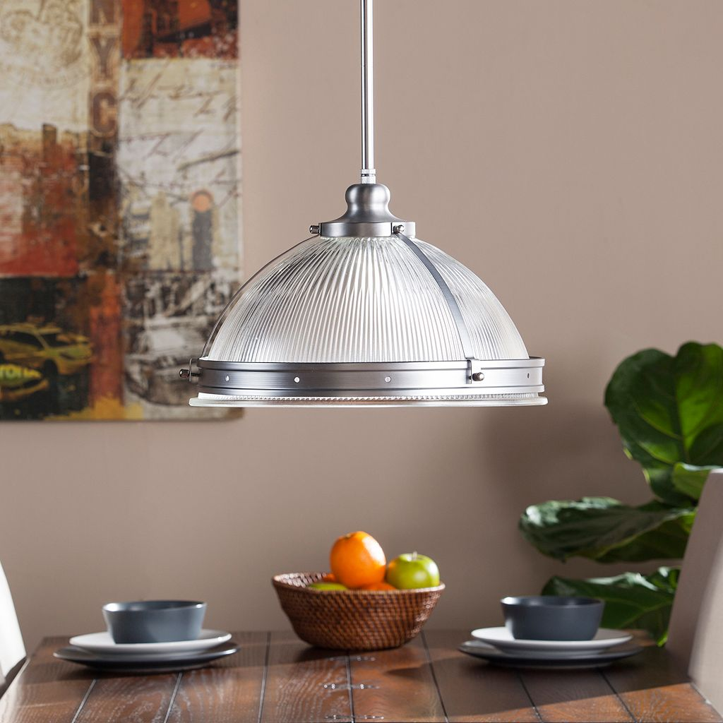 Elmcroft Chrome Finish Pendant Ceiling Lamp