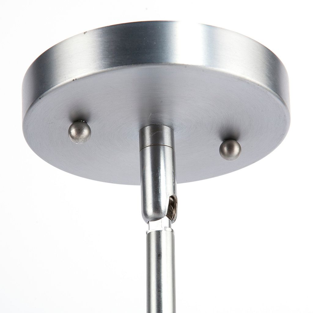 Elmcroft Chrome Finish Double Pendant Ceiling Lamp