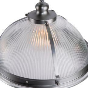 Elmcroft Chrome Finish Double Pendant Ceiling Lamp