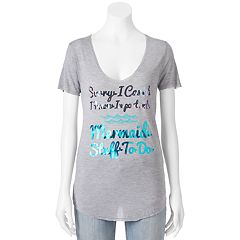 Juniors' Recycled Karma 'Mermaid Stuff To Do' Graphic Tee