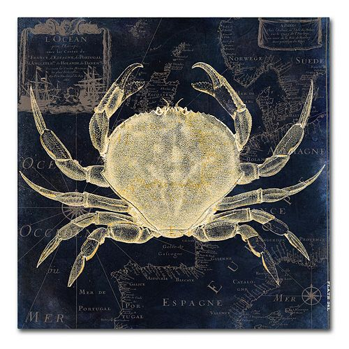 Trademark Fine Art Maritime Blues III Canvas Wall Art