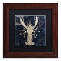 Trademark Fine Art Maritime Blues II Framed Wall Art